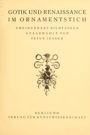 "Cover of ""Meister des ornamentstichs"""