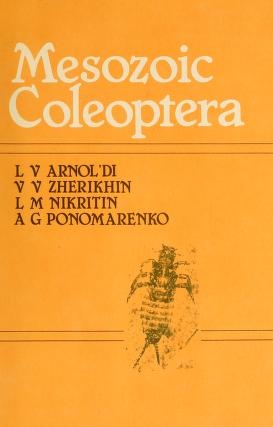 "Cover of ""Mesozoic Coleoptera /"""