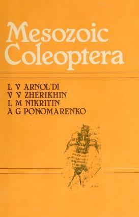 "Cover of ""Mesozoic Coleoptera /"""