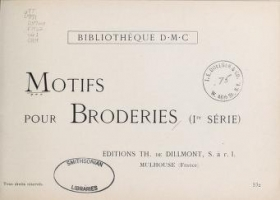 """Cover of """"Motifs pour broderies"""""""