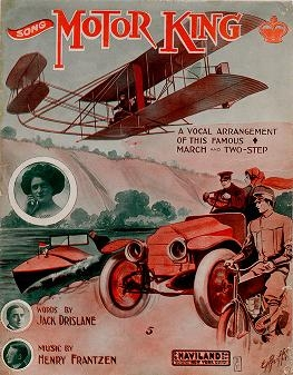 "Cover of ""Motor king"""