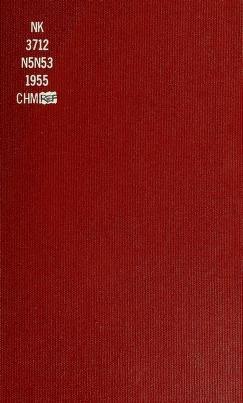 "Cover of ""New York Society of Ceramic Arts"""