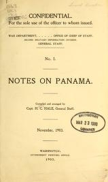 """Cover of """"Notes on Panama"""""""