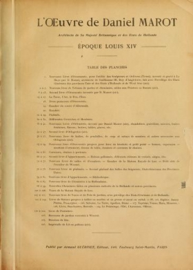 """Cover of """"Nouveaux livre d'ornaments"""""""