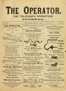 "Cover of ""Operator vol. 3"""