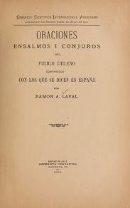 "Cover of ""Oraciones"""