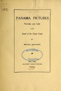 """Cover of """"Panama pictures"""""""