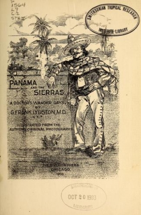 """Cover of """"Panama and the Sierras"""""""