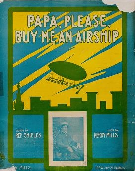 """Cover of """"Papa, please buy me an airship"""""""