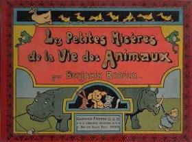 """Cover of """"Les petites misères de la vie des animaux"""""""