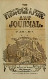 cover of the photographic art journal