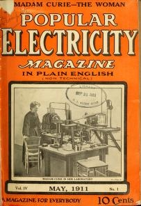 """Cover of """"Popular electricity in plain English"""""""