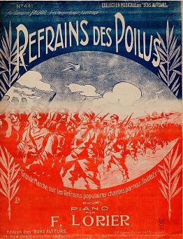"Cover of ""Refrains des poilus"""
