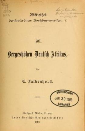 """Cover of """"Reisen in Zentral- und Nordasien /"""""""