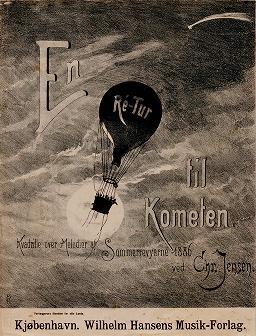 """Cover of """"En ré-tur til kometen"""""""
