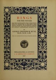 "Cover of ""Rings for the finger"""