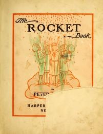 "Cover of ""The rocket book /"""