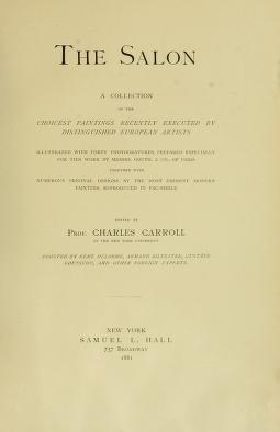 "Cover of ""The Salon"""