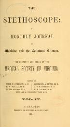 "Cover of ""The Stethoscope"""