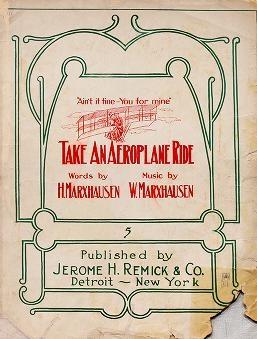 "Cover of ""Take an aeroplane ride"""