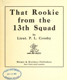 """Cover of """"That rookie from the 13th Squad"""""""