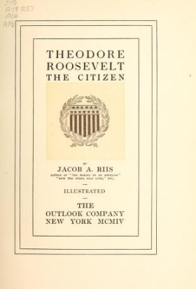 "Cover of ""Theodore Roosevelt"""