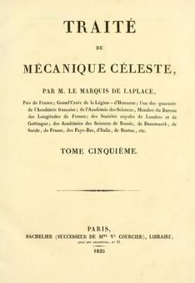 """Cover of """"Traité de mécanique céleste /"""""""