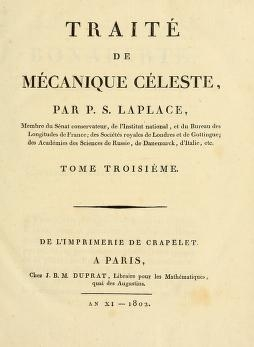 "Cover of ""Traité de mécanique céleste /"""
