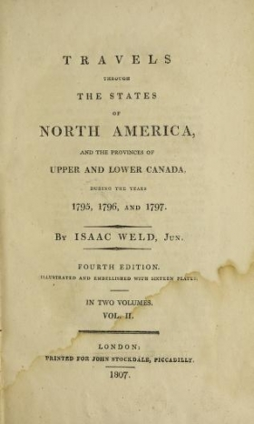 Cover of Travels through the states of North America
