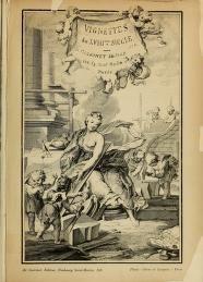 """Cover of """"Vignettes du XVIIIeme siècle /"""""""