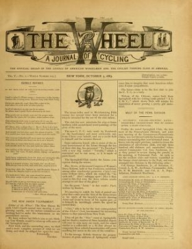 """Cover of """"The wheel"""""""