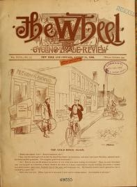 """Cover of """"The Wheel and cycling trade review"""""""