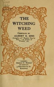 """Cover of """"The witching weed"""""""