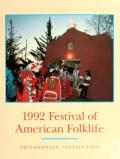 "Cover of ""1992 Festival of American Folklife"""