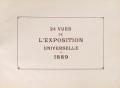 """Cover of """"24 vues de l'Exposition universelle de 1889"""""""
