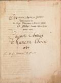 """Cover of """"Aritmetices, algebrae ac geometriae institutione"""""""