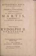 "Cover of ""Astronomia nova aitiologetos [romanized]"""