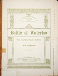 Cover of Battle of Waterloo
