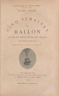 Cover of Cinq semaines en ballon voyage de découvertes en Afrique par trois Anglais