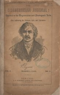"Cover of ""The Daguerreian journal"""