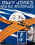 Cover of Davy Jones and his monoplane