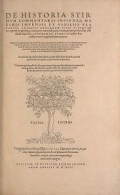 Cover of De historia stirpium commentarii insignes
