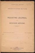 "Cover of ""Escadrille N. 124 journal de marche"""