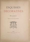 Cover of Esquisses décoratives