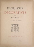 Cover of Esquisses décoratives
