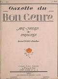 """Cover of """"Gazette du bon genre"""""""