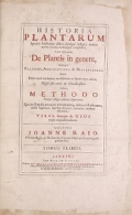 Cover of Historia plantarum v 1