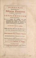 """Cover of """"Historia plantarum"""""""