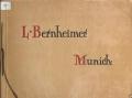 Cover of L. Bernheimer, Munich.