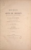 Cover of Monuments des arts du dessin chez les peuples tant anciens que modernes